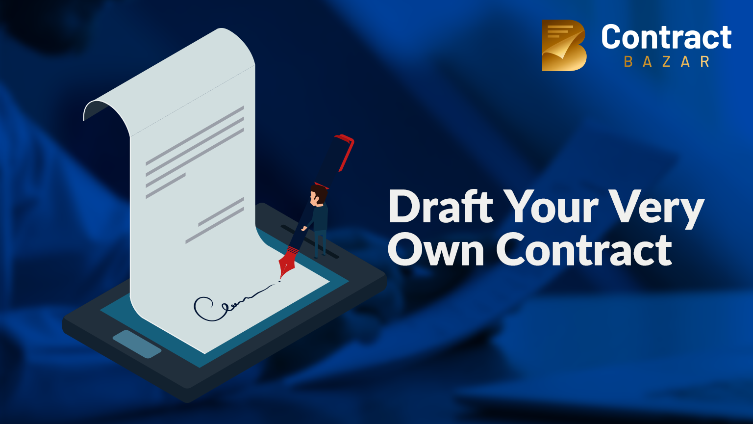 How to draft a Legal Contract without a Lawyer